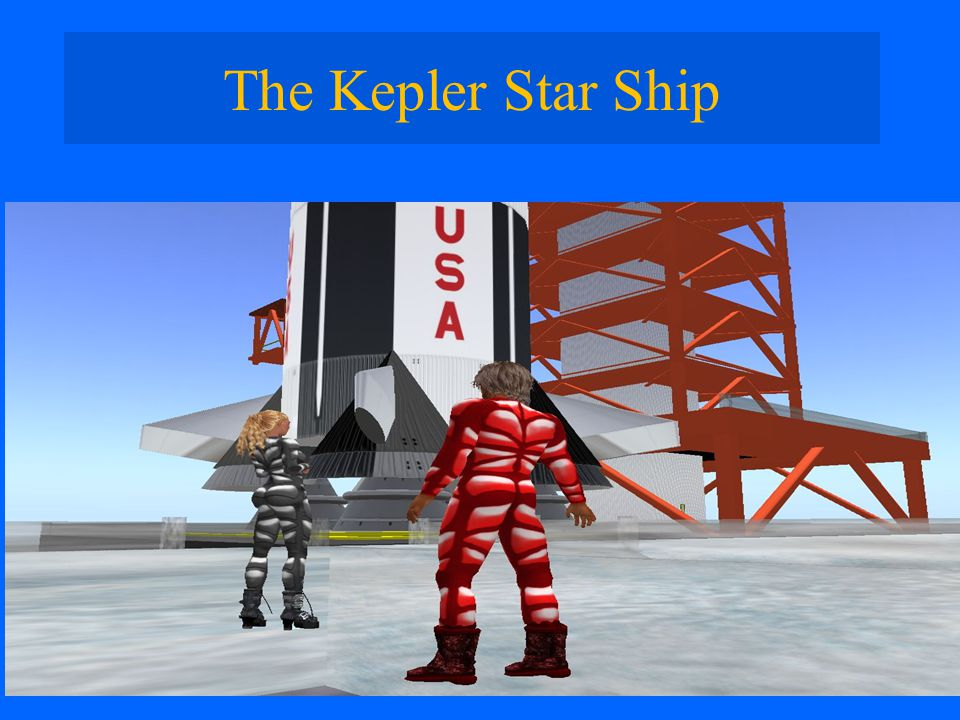 The Kepler Star Ship