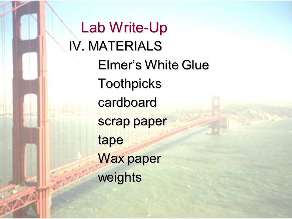 Lab Write-Up V.