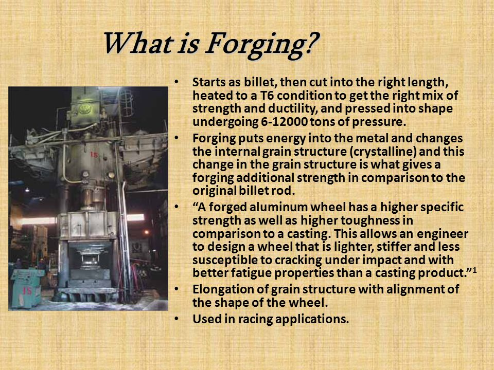 What is Forging.