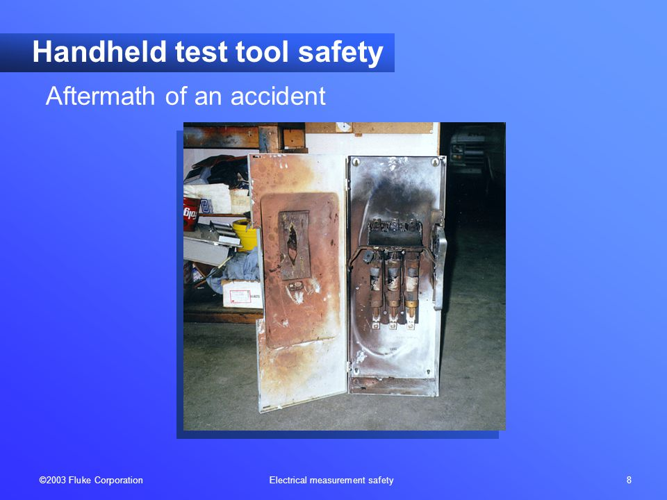 ©2003 Fluke Corporation Electrical measurement safety 19 Category locations