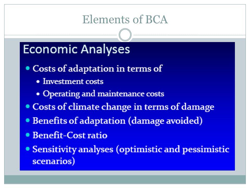 Elements of BCA