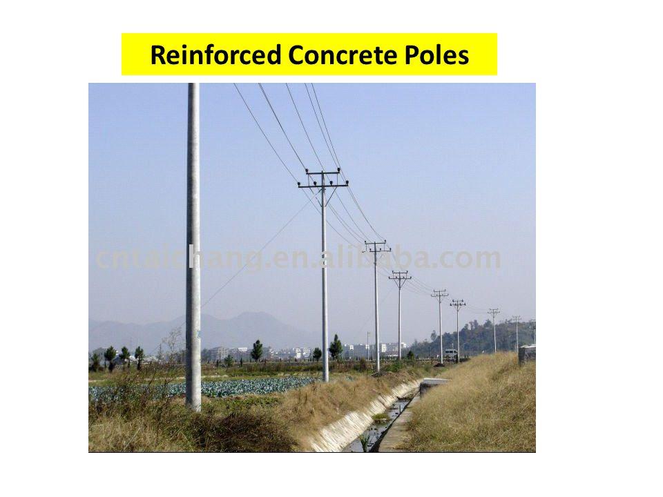 Reinforced Concrete Poles