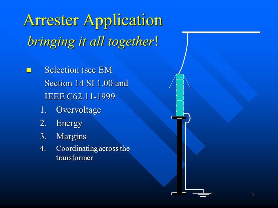 12 Oil Filled Equipment characteristics