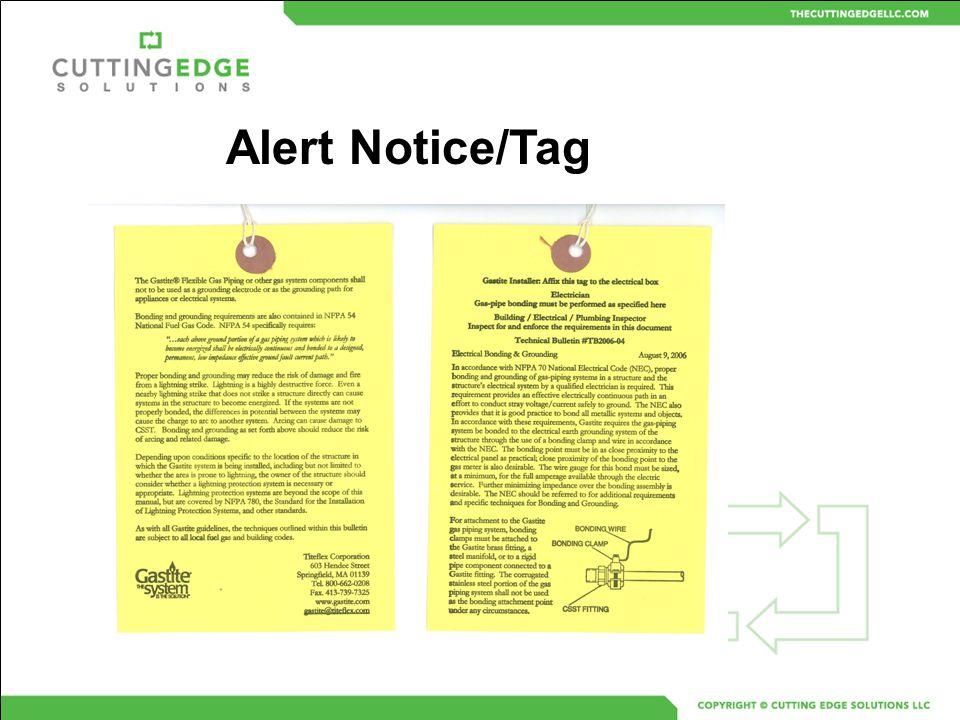 Alert Notice/Tag