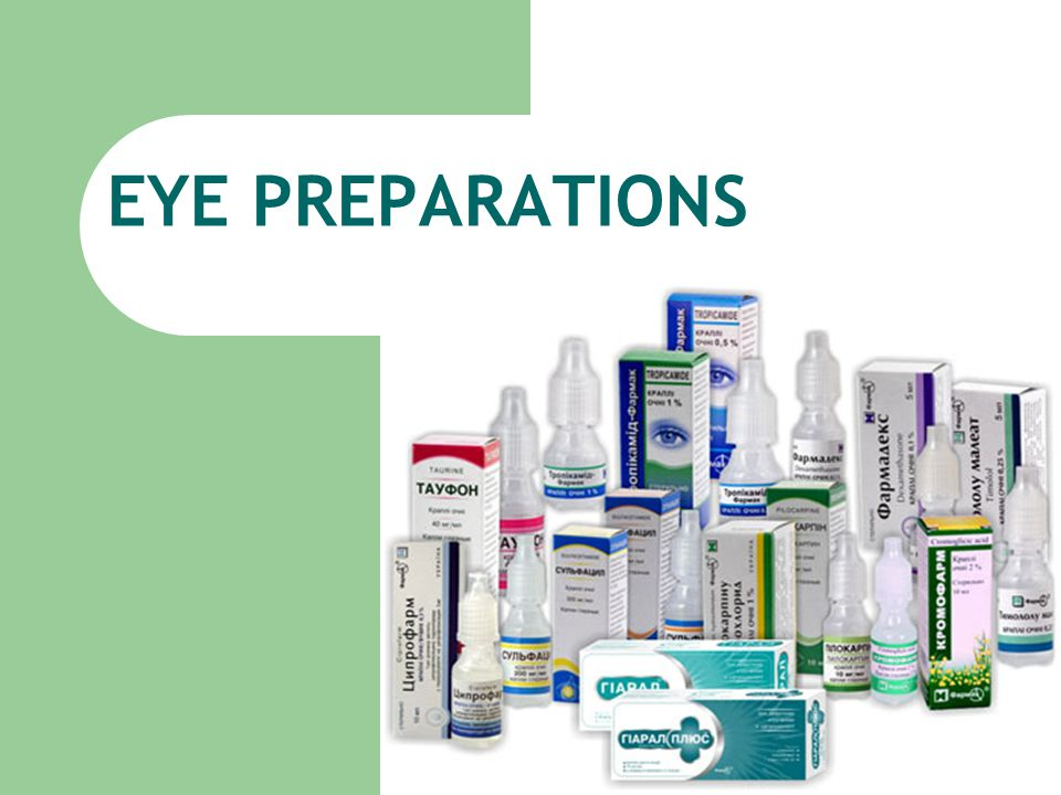 If eye lotions are prescribed without an antimicrobial preservative, they are supplied in single-dose containers.
