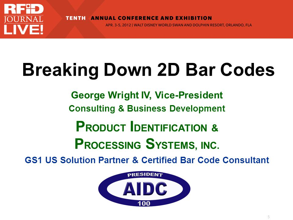 16 Symbology Types Linear (1-D) Stacked Linear (2-D) Matrix (2-D) A Quick Review of Bar Code Basics