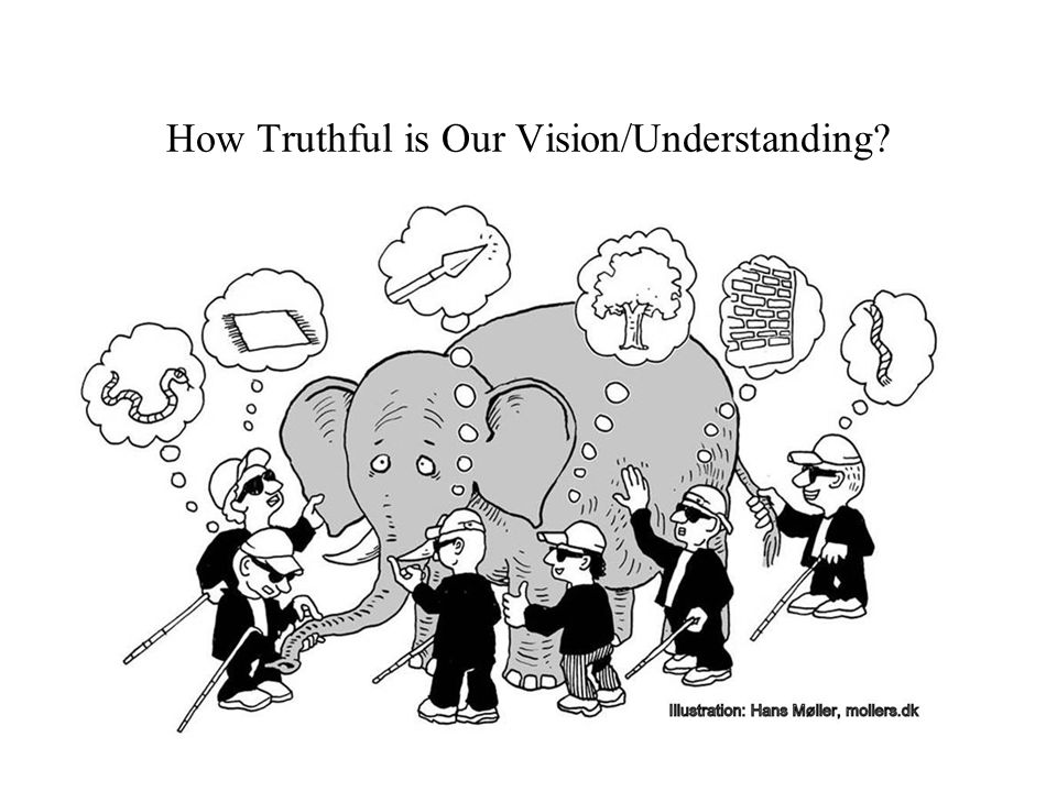How Truthful is Our Vision/Understanding