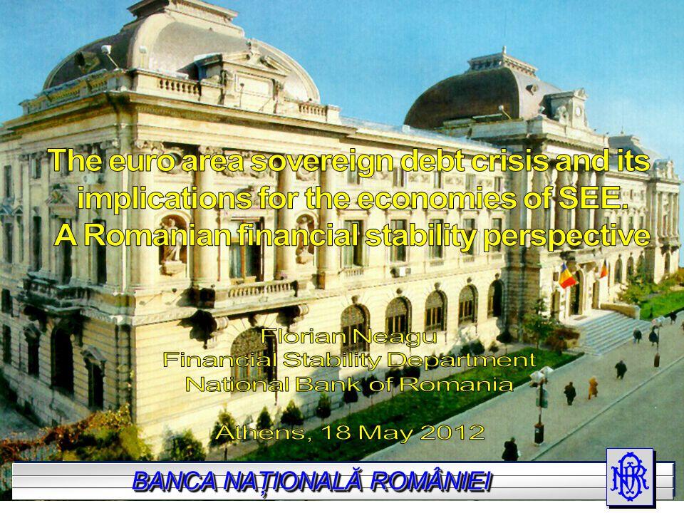 BANCA NAŢIONALĂ A ROMÂNIEI BANCA NAŢIONALĂ ROMÂNIEI