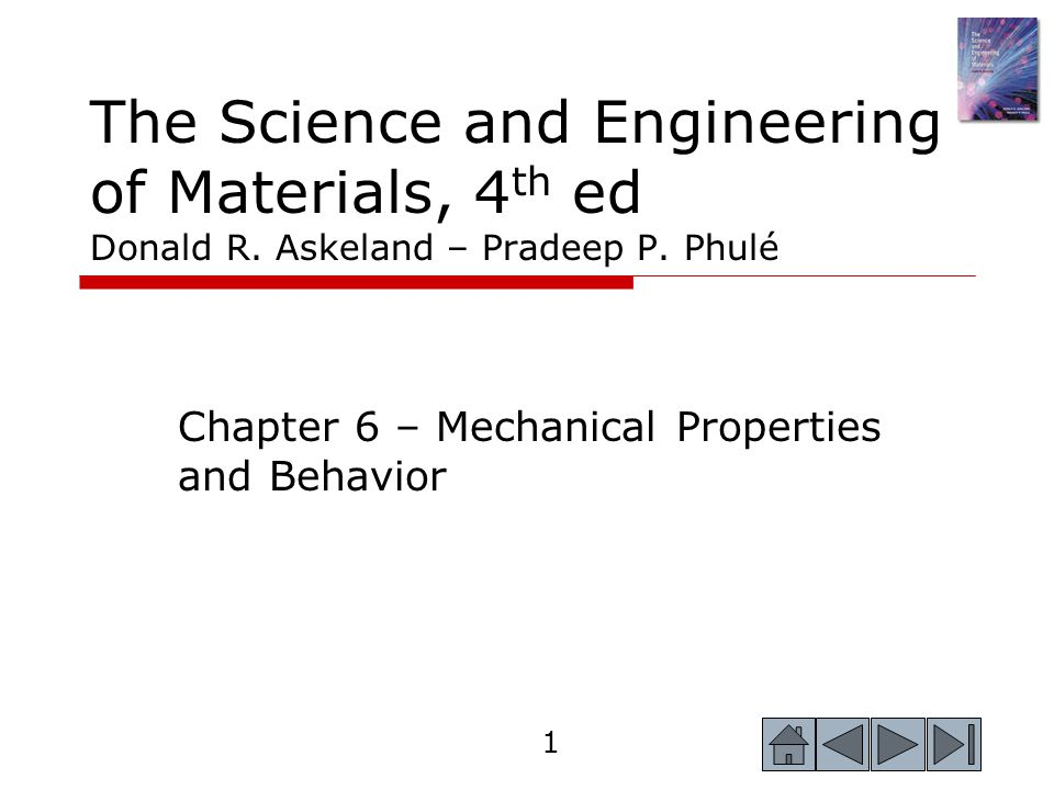 2 2 Objectives of Chapter 6  Introduce the basic concepts associated with mechanical properties of materials.