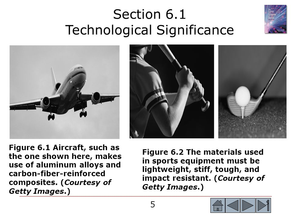 46 Section 6.8 Strain Rate Effects and Impact Behavior  Impact test - Measures the ability of a material to absorb the sudden application of a load without breaking.