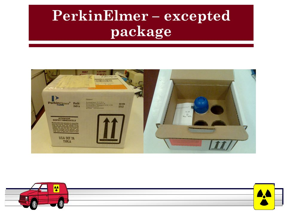 YOUR LOGO HERE PerkinElmer – excepted package