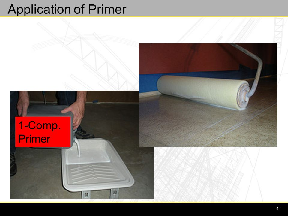 14 1-Comp. Primer Application of Primer