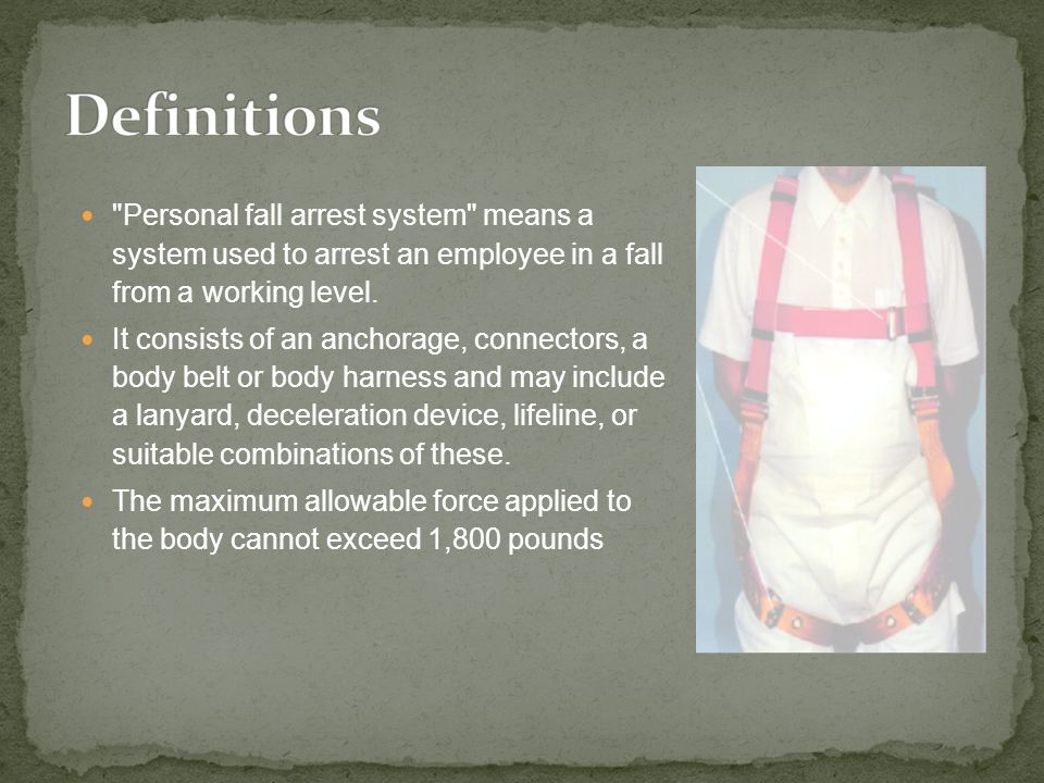 Employees working in the hoist area shall be protected by a guardrail system or personal fall arrest system