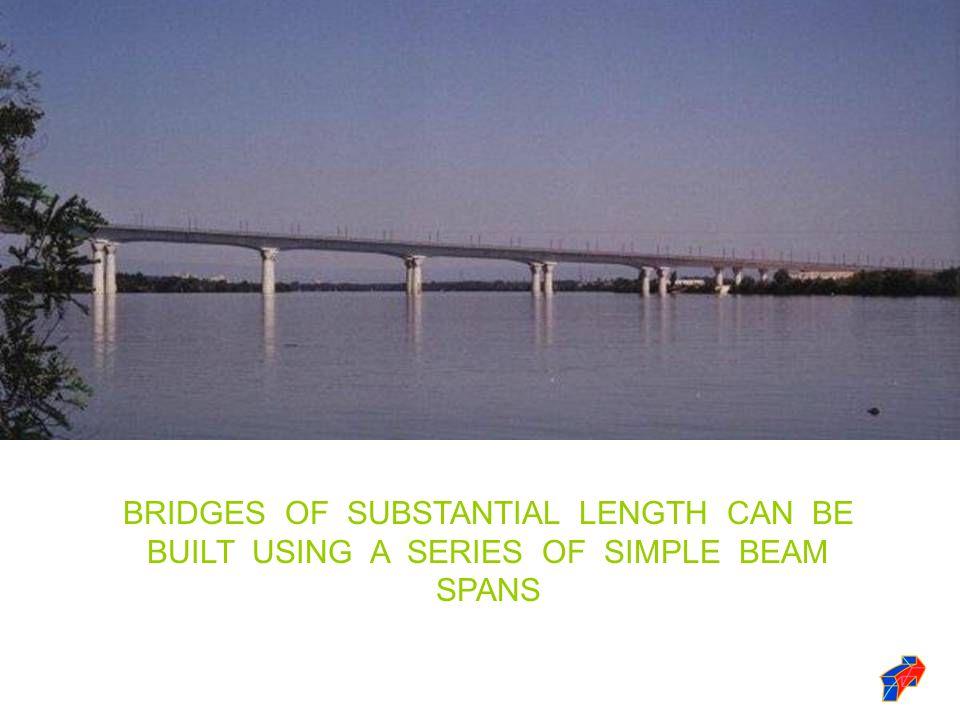 THE LONGEST BRIDGE SYSTEM IN THE WORLD IS THE 18 MILE LONG CHESAPEAKE BAY BRIDGE - TUNNEL.