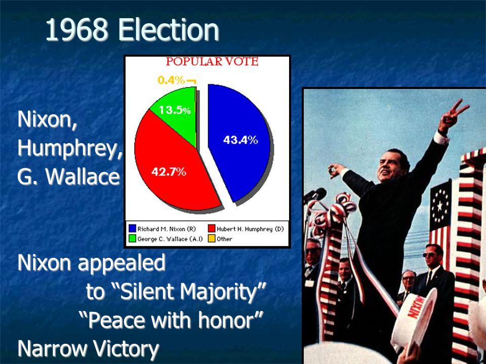 1968 Election Nixon,Humphrey, G.