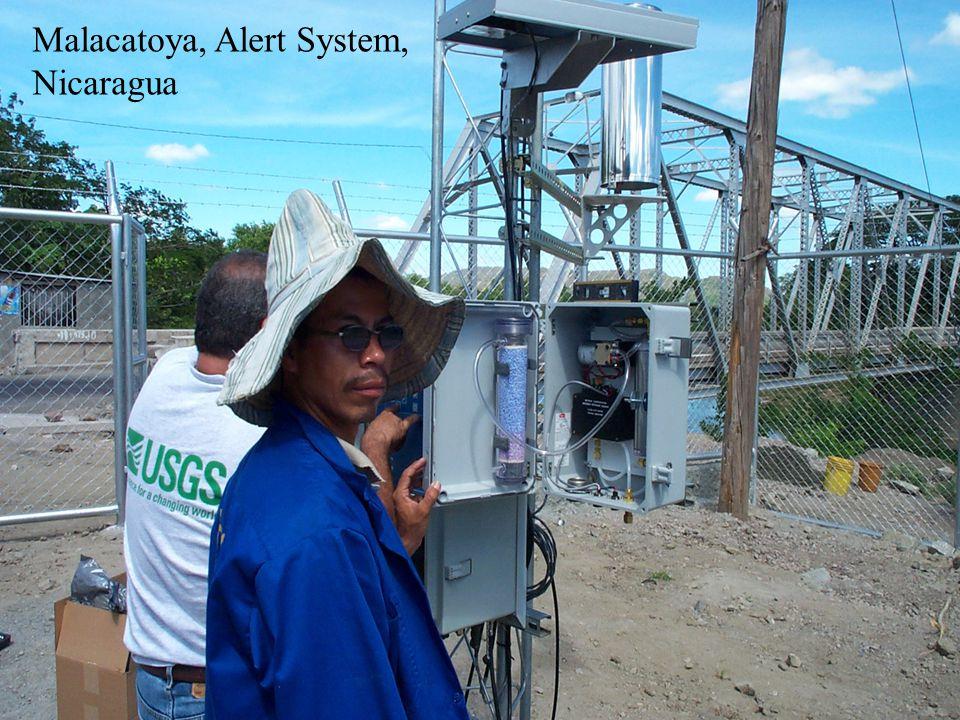 www.sutron.com Malacatoya, Alert System, Nicaragua