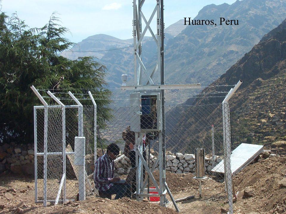 www.sutron.com Huaros, Peru
