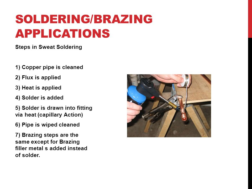 FURNACE SOLDERING AND BRAZING Advantages of using a furnace: Furnace brazing is a semi-automatic process Temperature control Controlled atmosphere (Common atmospheres used include: inert, reducing or vacuum atmospheres all of which protect the part from oxidation)vacuum Uniform heating Mass production Disadvantages of using a furnace: Size Heat damage