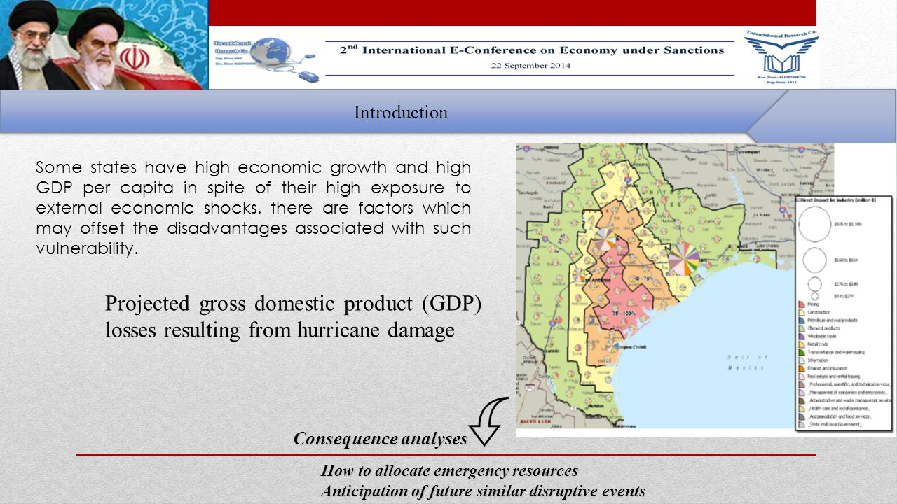 Introduction Some states have high economic growth and high GDP per capita in spite of their high exposure to external economic shocks.