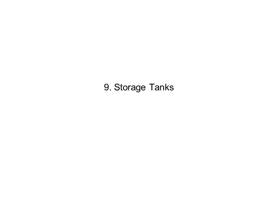 9. Storage Tanks
