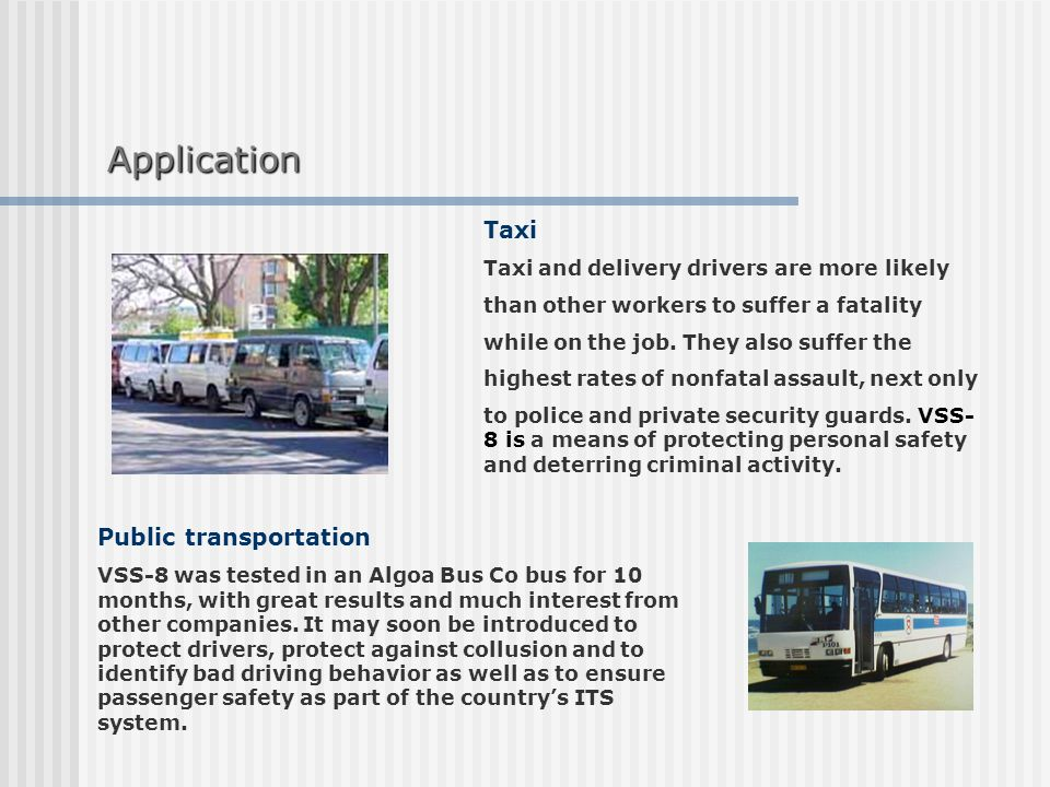Taxi Taxi and delivery drivers are more likely than other workers to suffer a fatality while on the job.