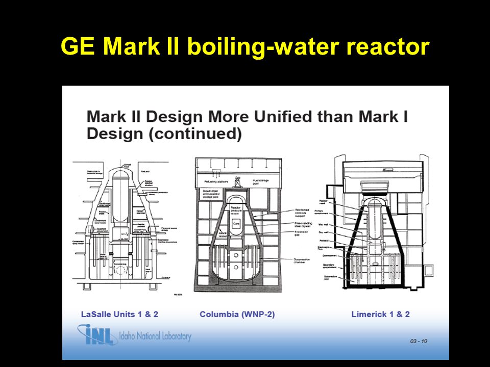 Columbia Generating Station (Mark II BWR) CGS is unique among U.S.