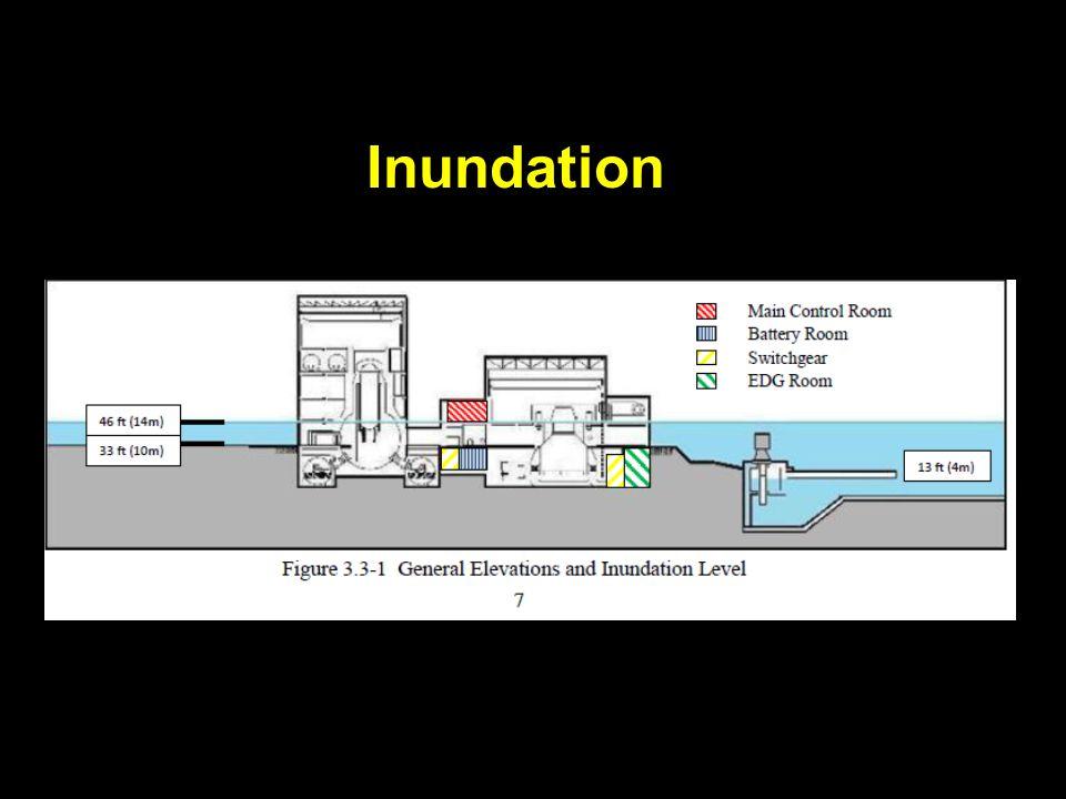 Oconee Nuclear Station (Seneca, South Carolina) (( ((Source: Duke Energy) The Oconee disaster would be no less severe (than the Japanese tsunami) on the [reactor] units.