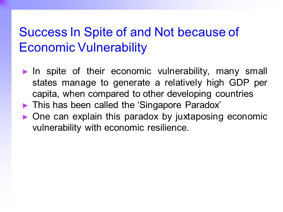 29 RESULTS OF THE RESILIENCE INDEX AND COUNTRY CATEGORISATION