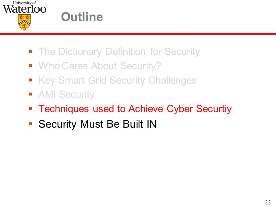  The Dictionary Definition for Security  Who Cares About Security.