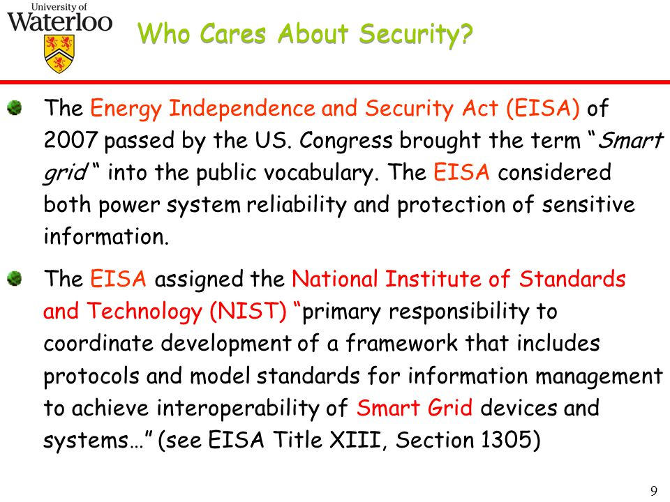 9 Who Cares About Security.