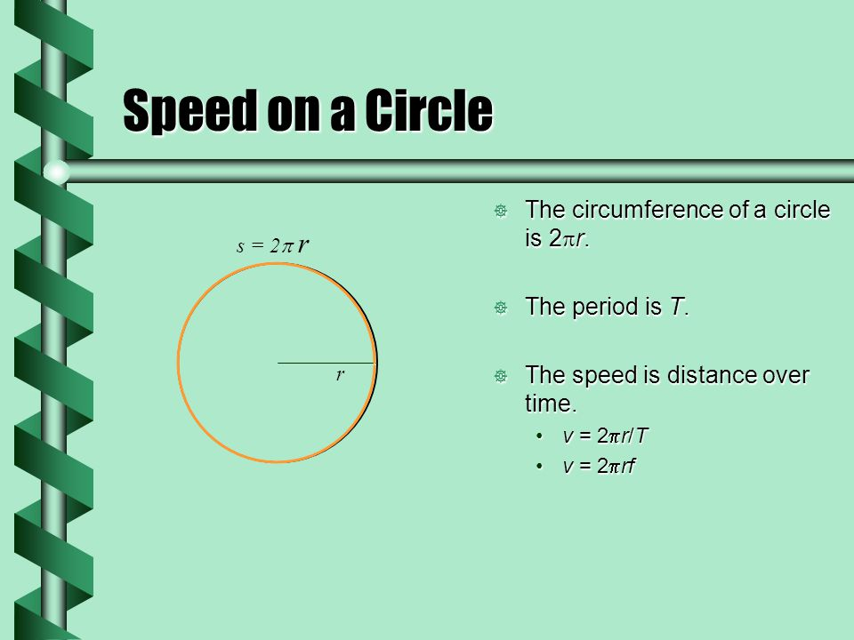 Acceleration in a Circle  Acceleration is a vector change in velocity compared to time.