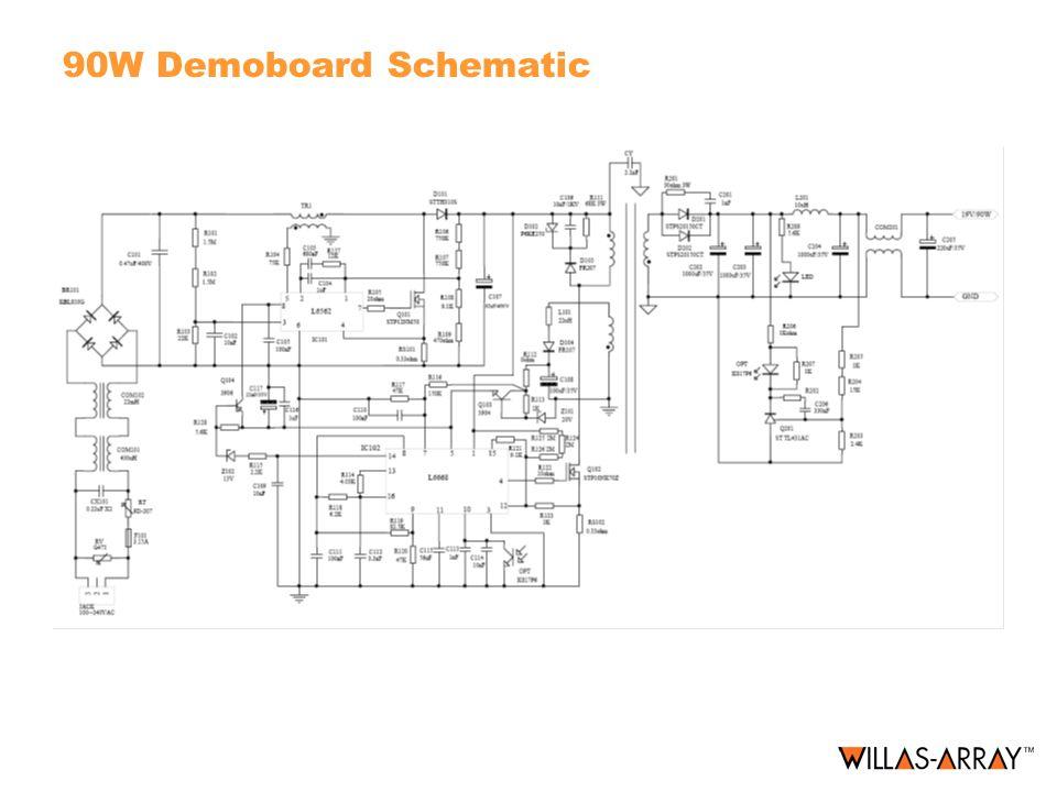 90W Demoboard Schematic