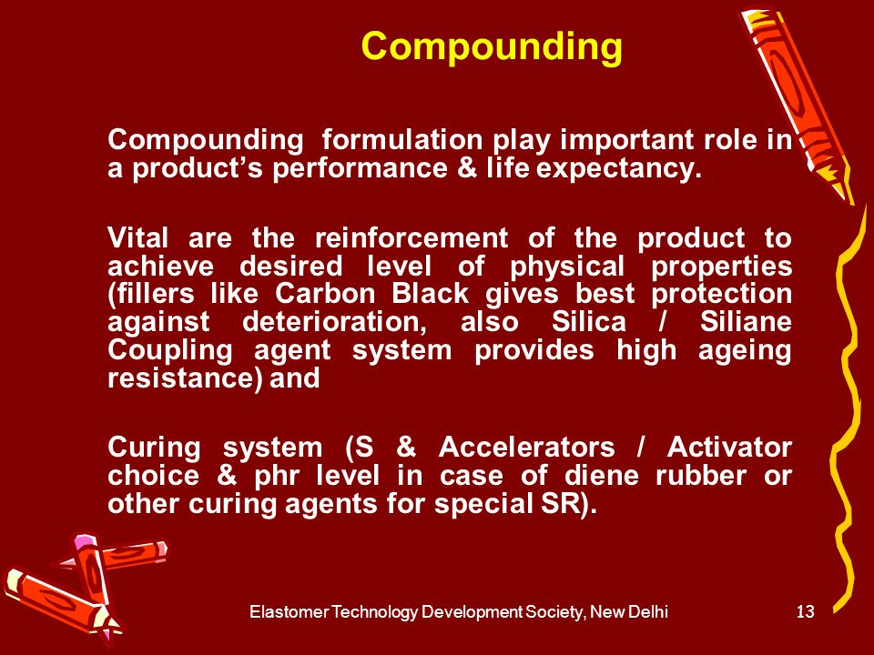 Elastomer Technology Development Society, New Delhi14 E.V.System Efficient vulcanizing (EV) systems are defined as those in which no sulphur or sulphur donor is used for crosslinking purposes.