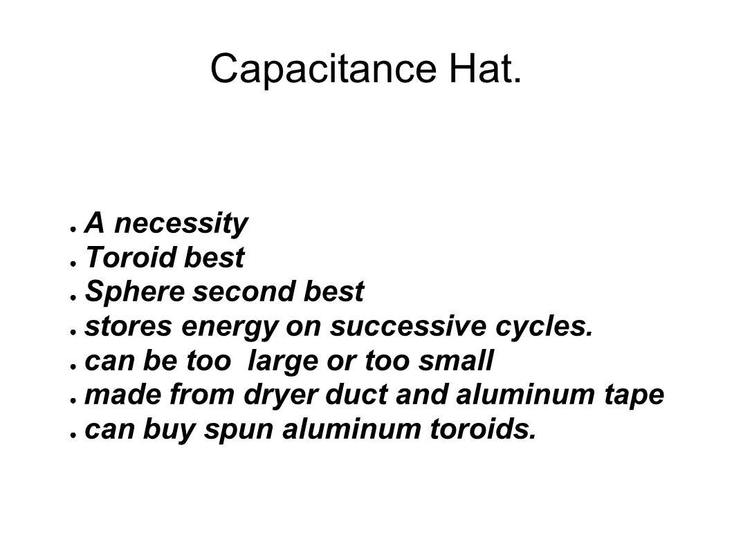 Capacitance Hat.
