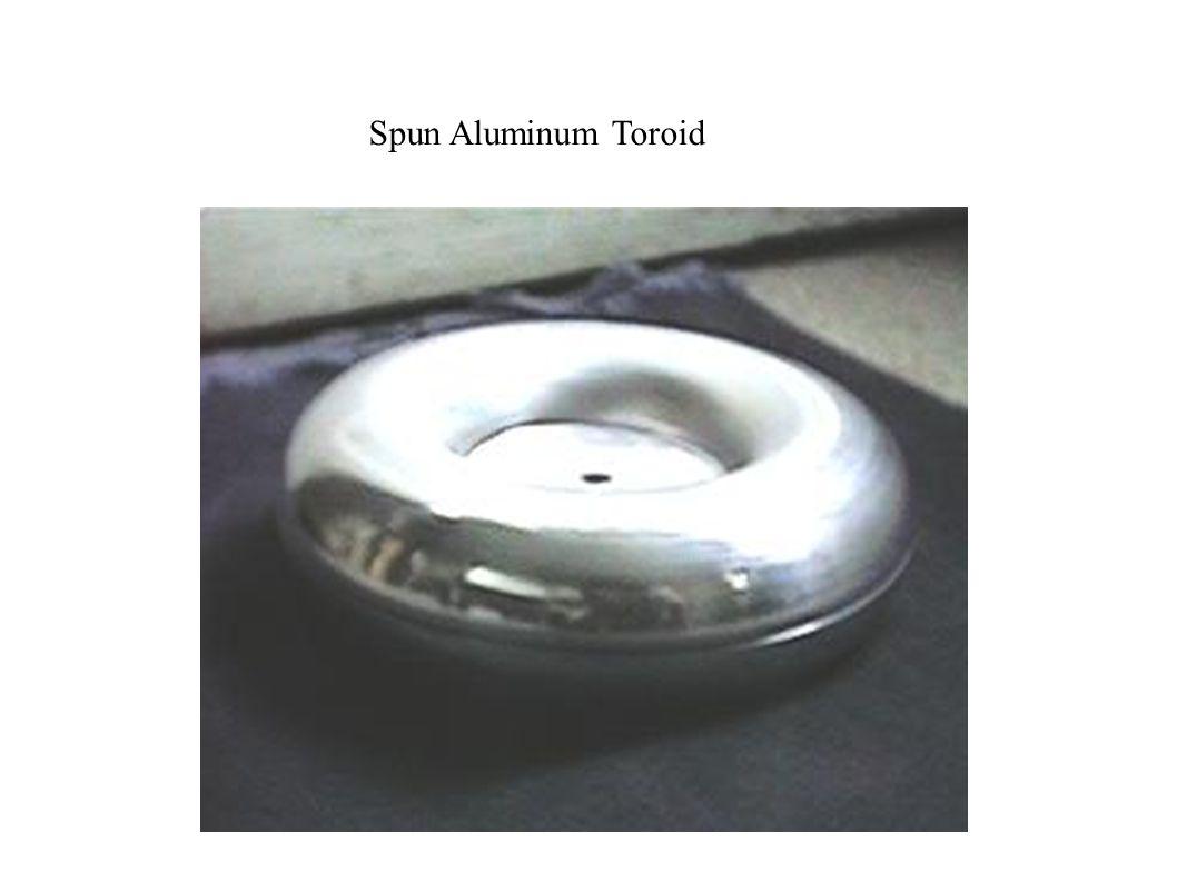 Spun Aluminum Toroid