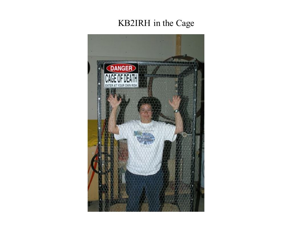 KB2IRH in the Cage