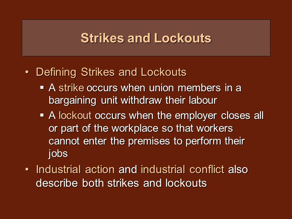 Picketing Purpose of secondary picketing is to restrict the employer from using a secondary location to carry out work that would usually be done at the location of the strike or lockoutPurpose of secondary picketing is to restrict the employer from using a secondary location to carry out work that would usually be done at the location of the strike or lockout Secondary picketing is also intended to hamper the employer's ability to generate revenueSecondary picketing is also intended to hamper the employer's ability to generate revenue For secondary picketing of the employer's suppliers or other business associates to be considered legal, the union must prove that the supplier or associate does business only or primarily with the employer who is the object of the strikeFor secondary picketing of the employer's suppliers or other business associates to be considered legal, the union must prove that the supplier or associate does business only or primarily with the employer who is the object of the strike