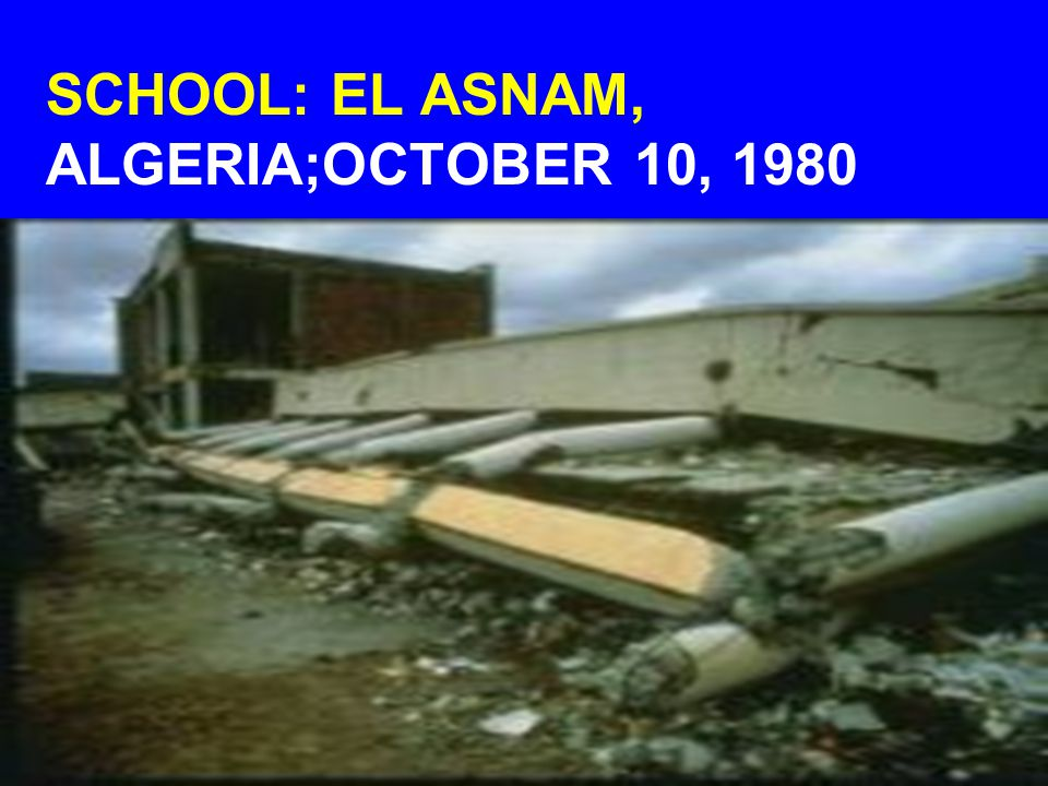 SCHOOL: EL ASNAM, ALGERIA;OCTOBER 10, 1980
