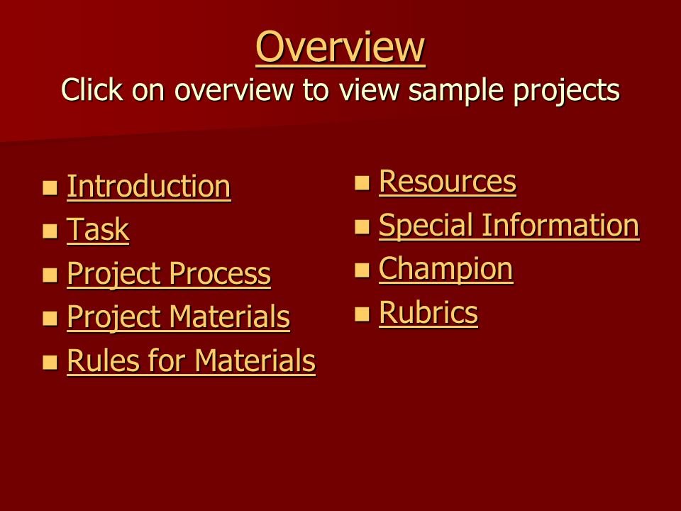 Rules for Use of Materials 1.How you decide to construct your building is very critical 2.