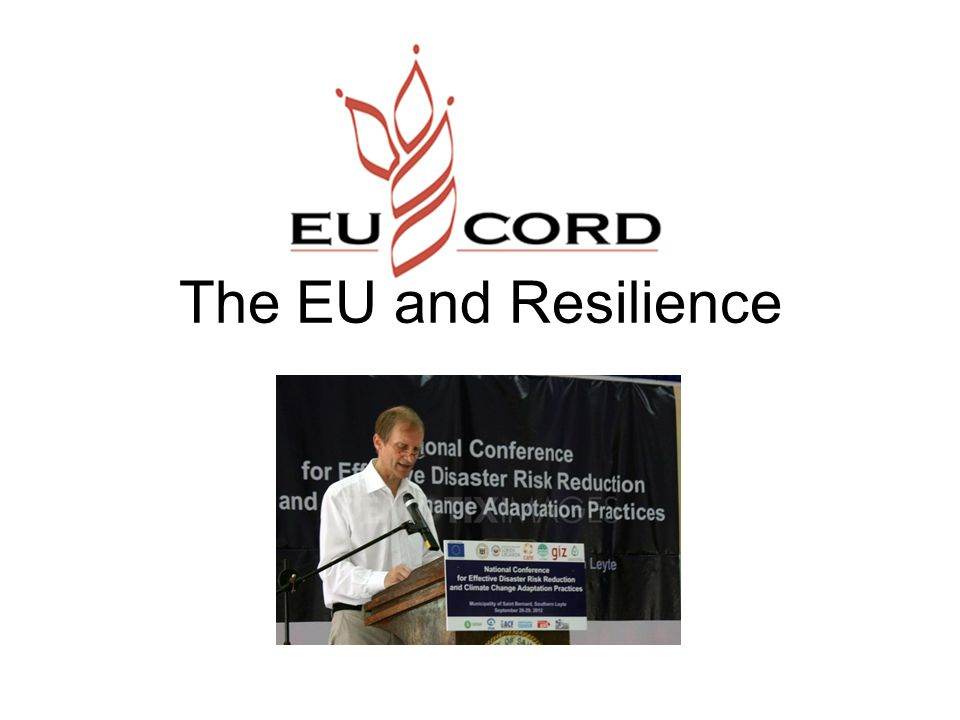 The EU and Resilience