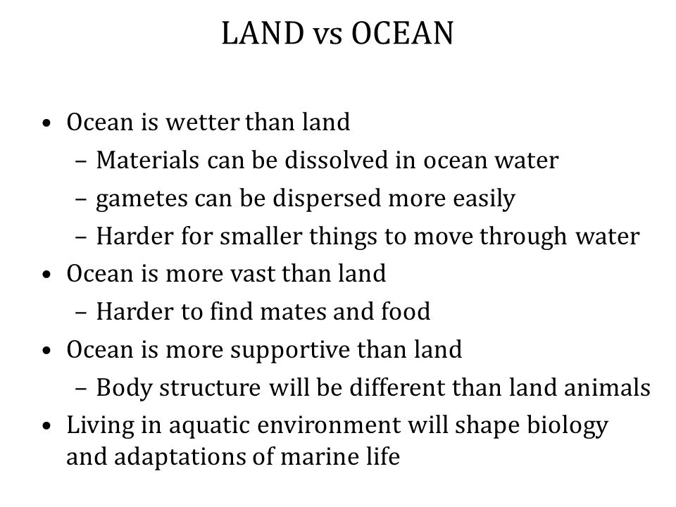 Salinity: Stenohaline (steno-) Organisms withstand only small variation in salinity Typically live in open ocean Euryhaline ( eury- ) Organisms withstand large variation in salinity Typically live in coastal waters, e.g., estuaries