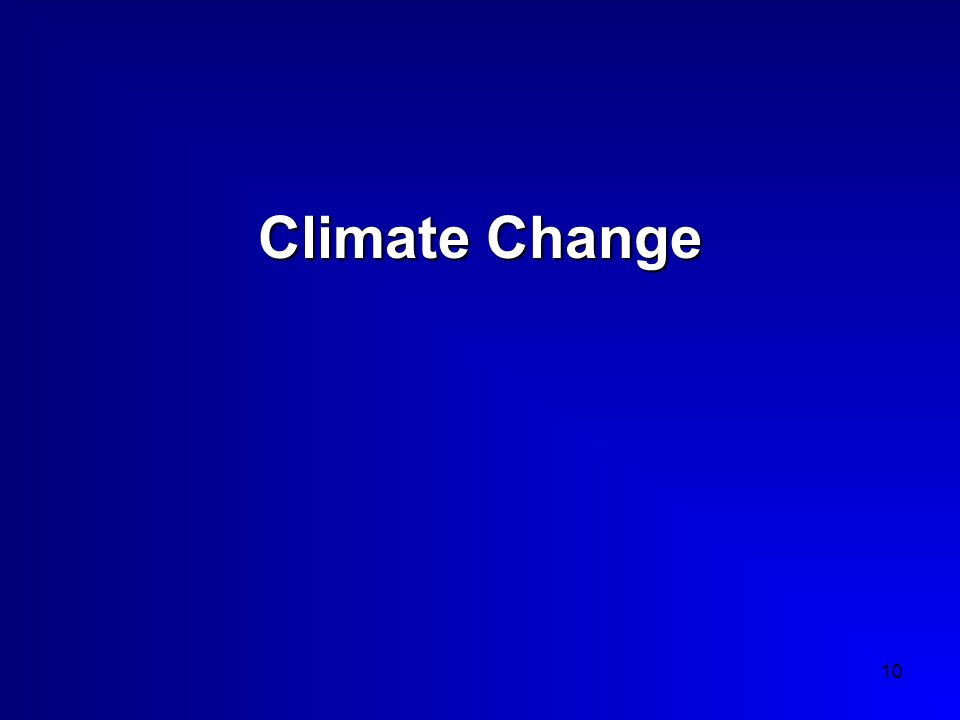 10 Climate Change