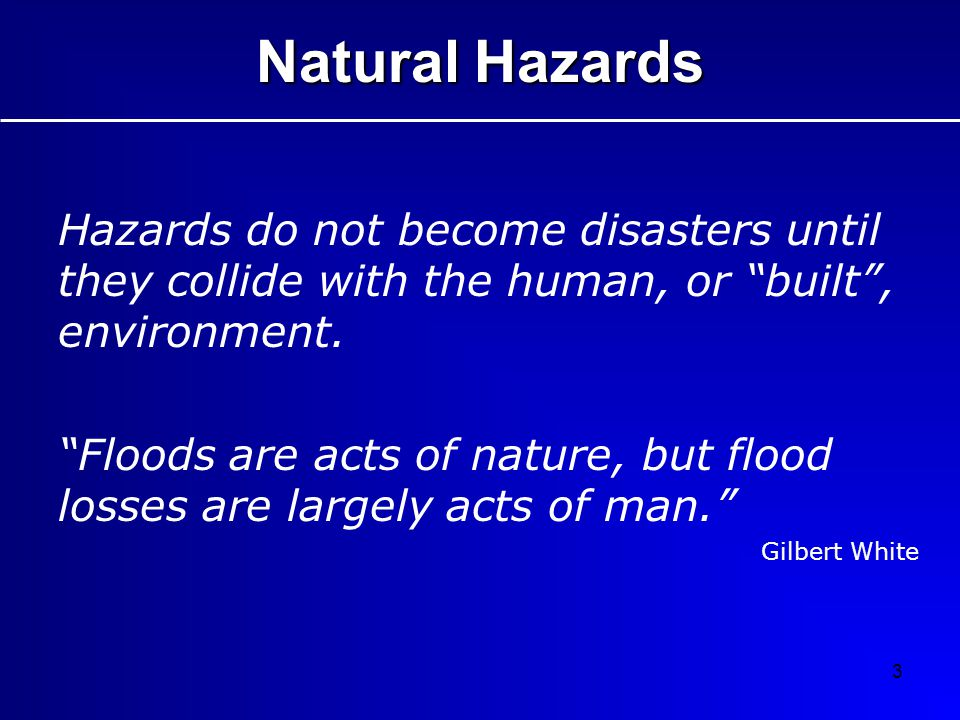 34 How can flood hazards be managed in a changing climate.