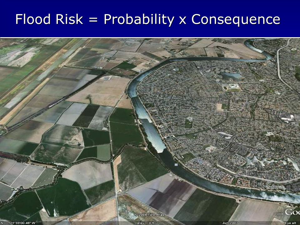 5 Flood Risk = Probability x Consequence