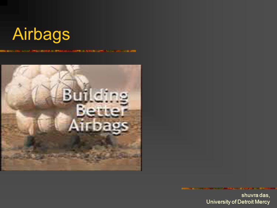 shuvra das, University of Detroit Mercy Airbags