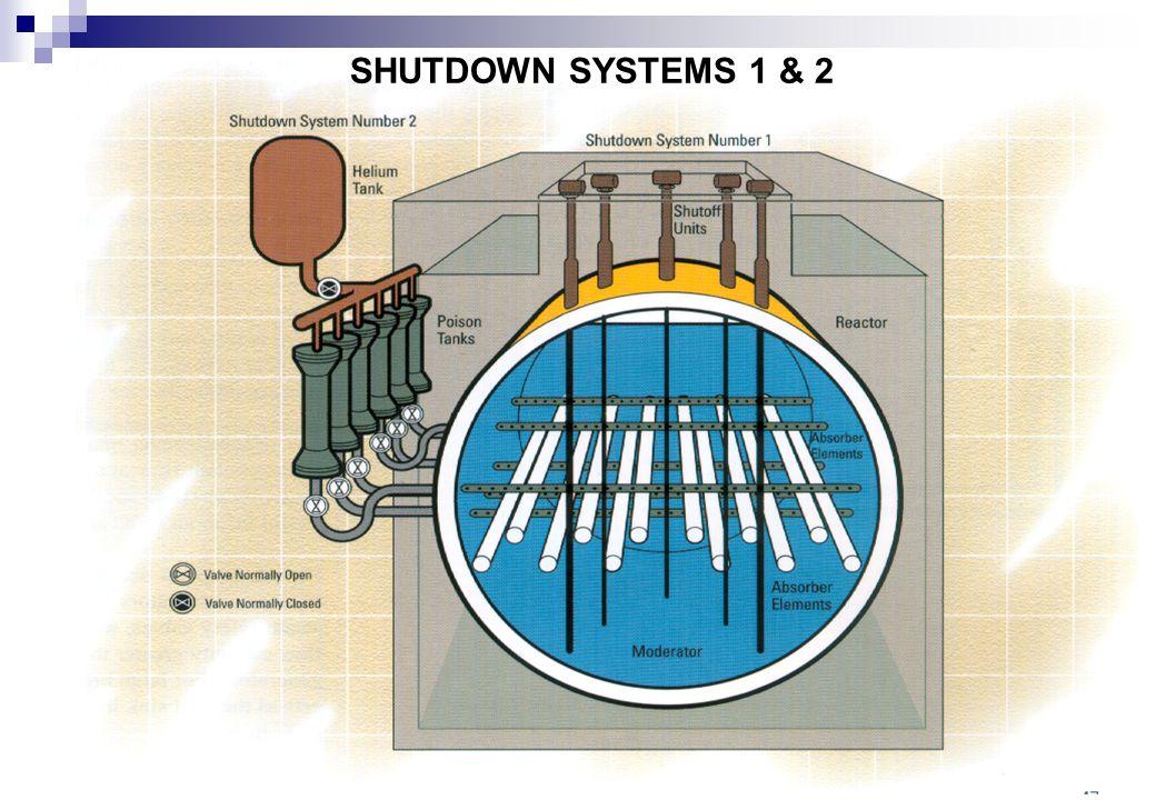 Cernavoda, Iunie 2011 SHUTDOWN SYSTEMS 1 & 2
