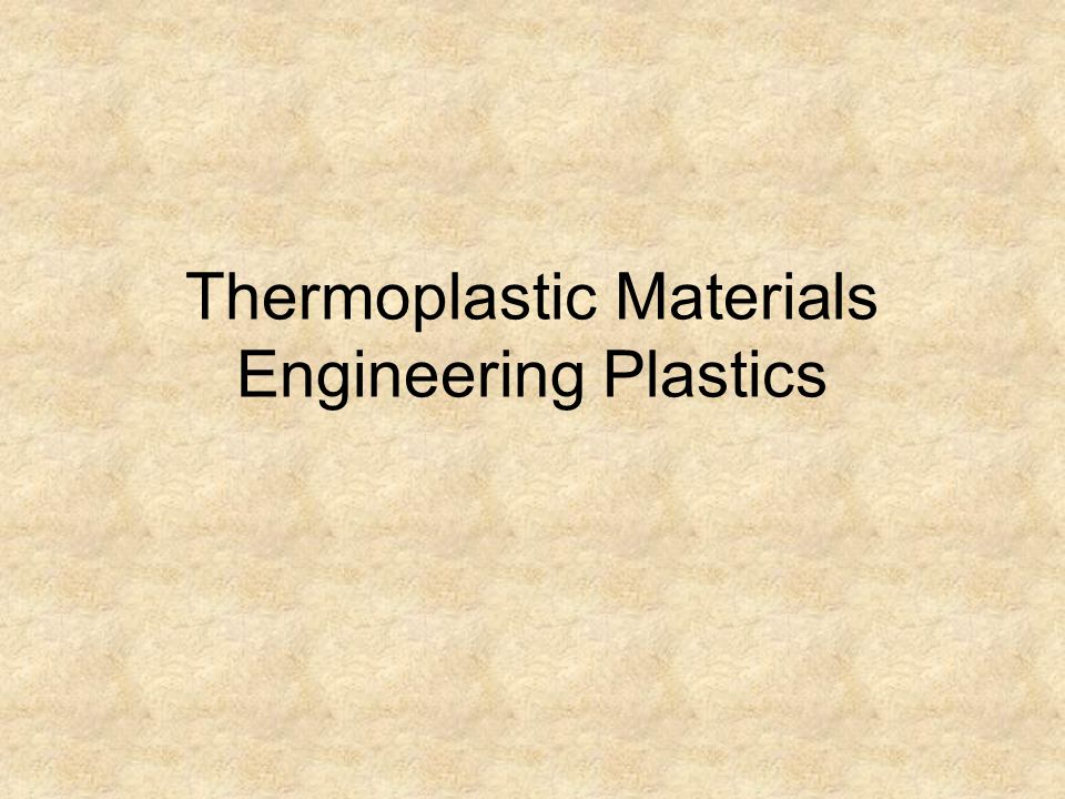 Thermoplastic Polyimides (PI and PAI)