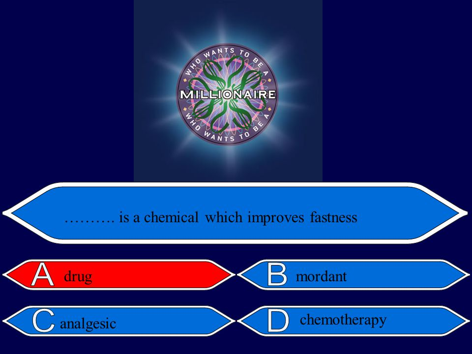mordant ………. is a chemical which improves fastness drug analgesic chemotherapy