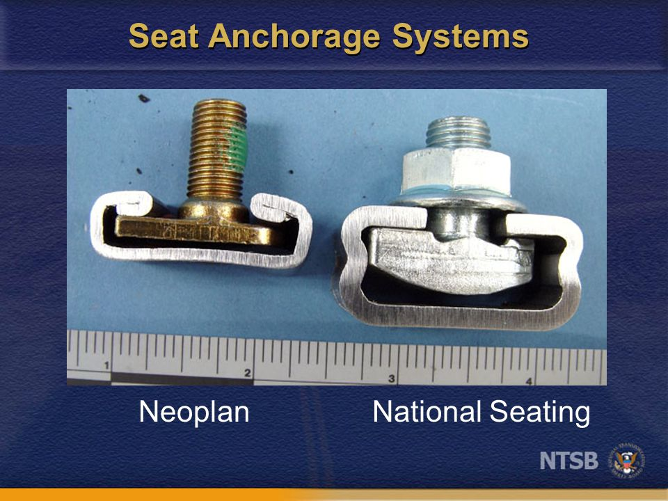 Seat Anchorage Systems NeoplanNational Seating