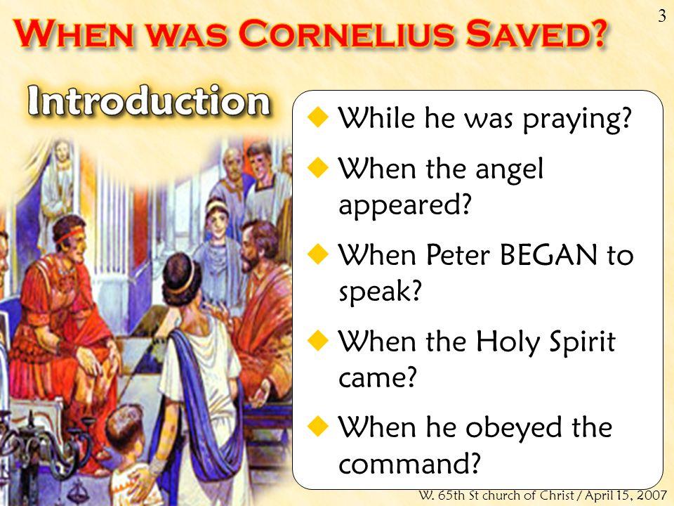 Don McClainW.65th St church of Christ / April 15, 2007 14 Acts 10:42-43 (NKJV)...